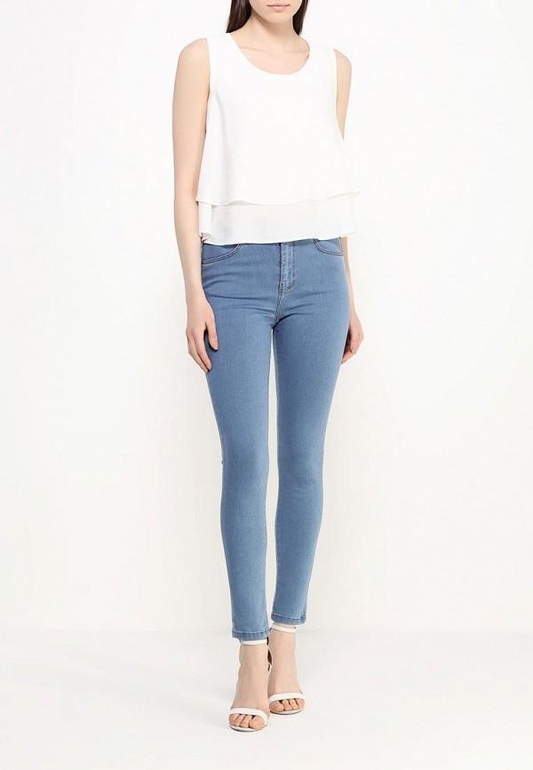 Зауженные джинсы adL 15328420000: изображение 2