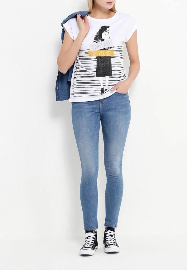 Зауженные джинсы adL 15328421000: изображение 2
