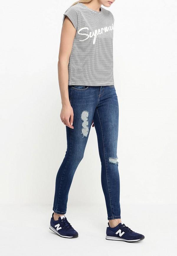 Зауженные джинсы adL 15328323000: изображение 3