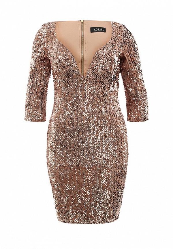 Платье-мини Ad Lib (Ад Либ) GCD 1614: изображение 1