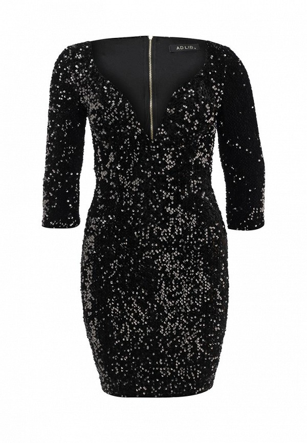 Купить женское платье Ad Lib черного цвета