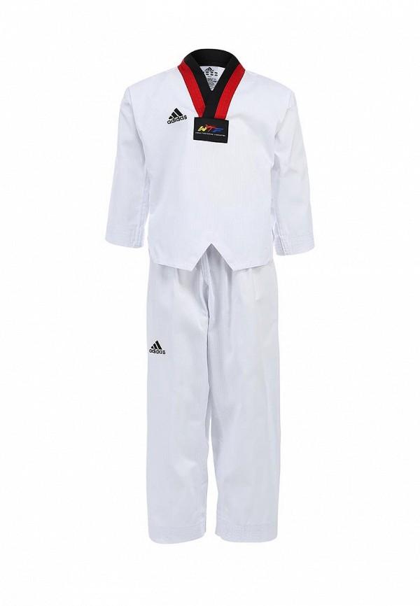 Комплект Adidas Combat (Адидас Комбат) adiTS01-WH/RD-BK: изображение 1