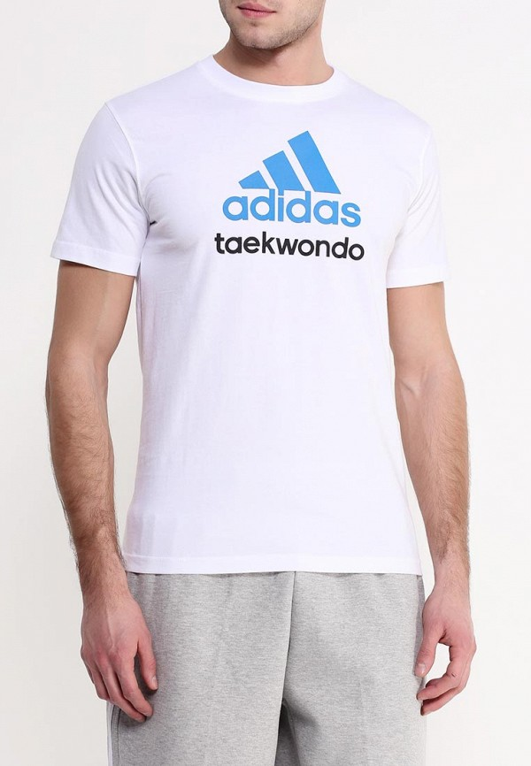Футболка с коротким рукавом Adidas Combat (Адидас Комбат) adiCTTKD: изображение 3
