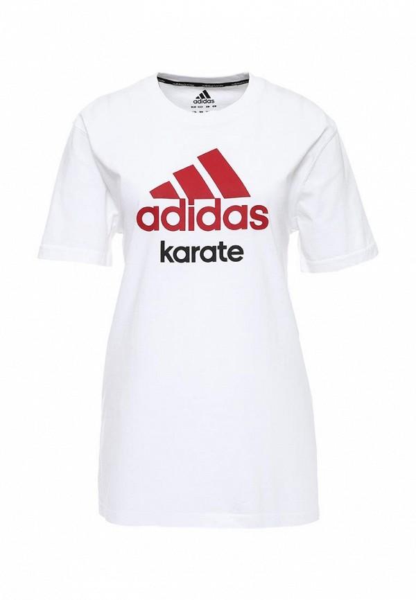 Футболка с надписями Adidas Combat (Адидас Комбат) adiCTK: изображение 2