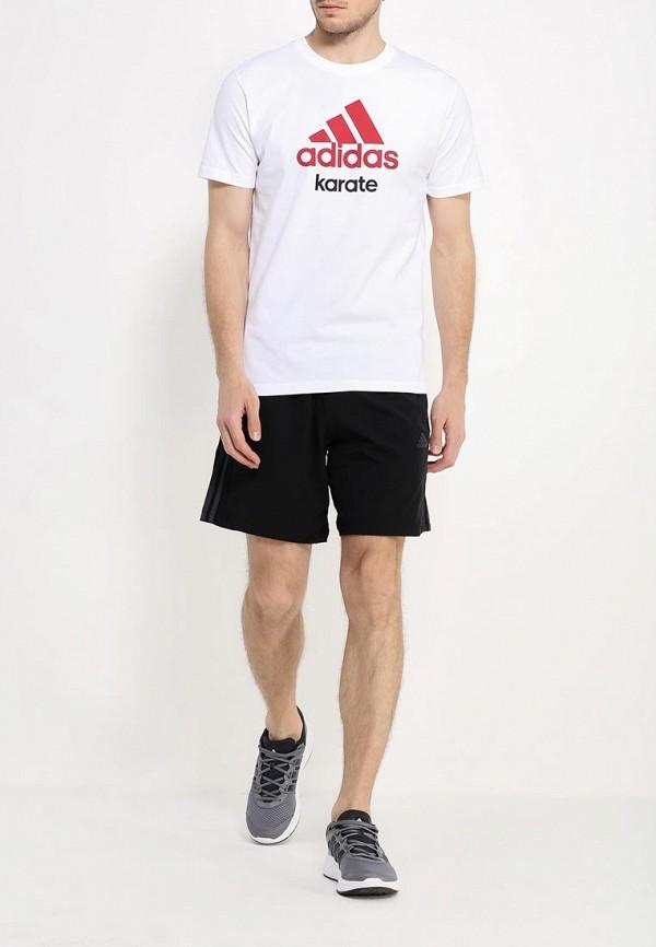 Футболка с надписями Adidas Combat (Адидас Комбат) adiCTK: изображение 3