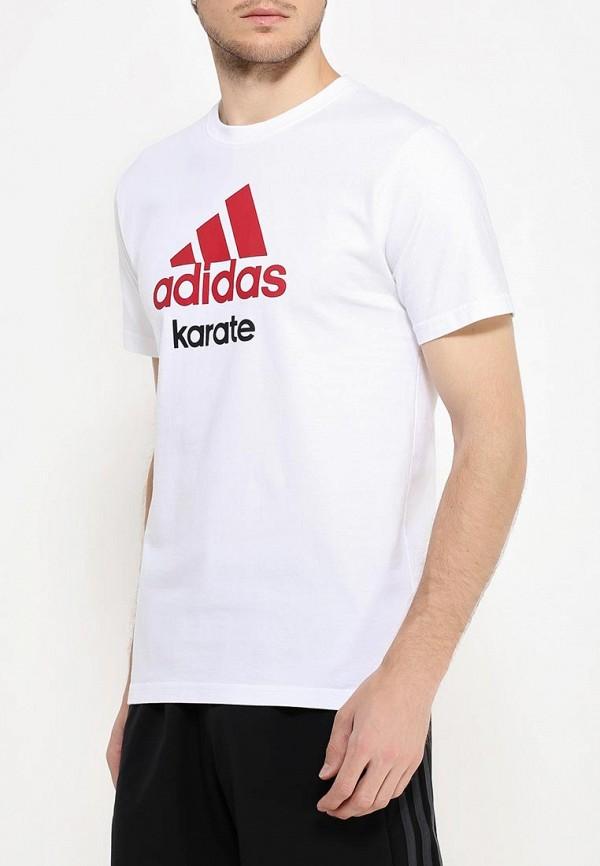 Футболка с надписями Adidas Combat (Адидас Комбат) adiCTK: изображение 4