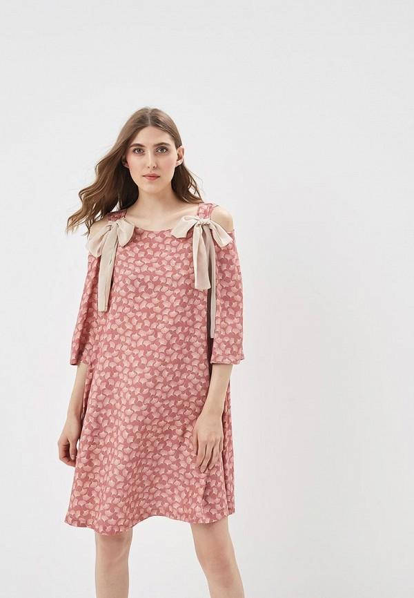 Купить Платье Adzhedo, Adzhedo AD016EWBJWJ9, розовый, Весна-лето 2018
