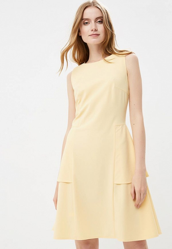 Купить Платье Adzhedo, Adzhedo AD016EWBMEI7, желтый, Весна-лето 2018