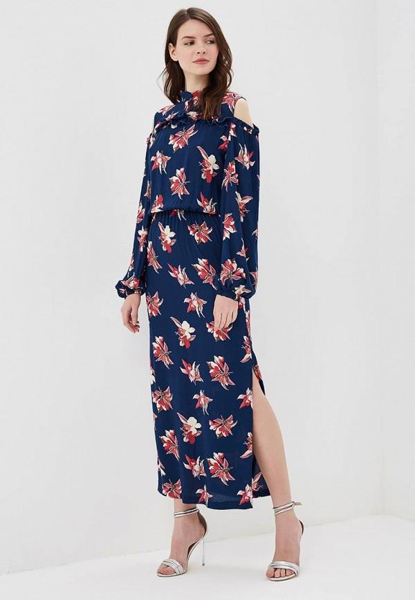 Купить Платье Adzhedo, Adzhedo AD016EWBMEJ5, синий, Весна-лето 2018