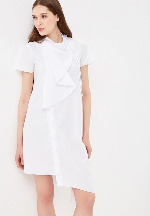 Купить Платье Adzhedo, Adzhedo AD016EWBMEJ9, белый, Весна-лето 2018