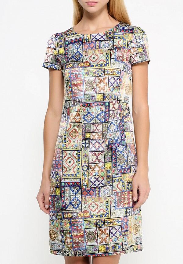 Платье-миди Adzhedo 40609: изображение 3