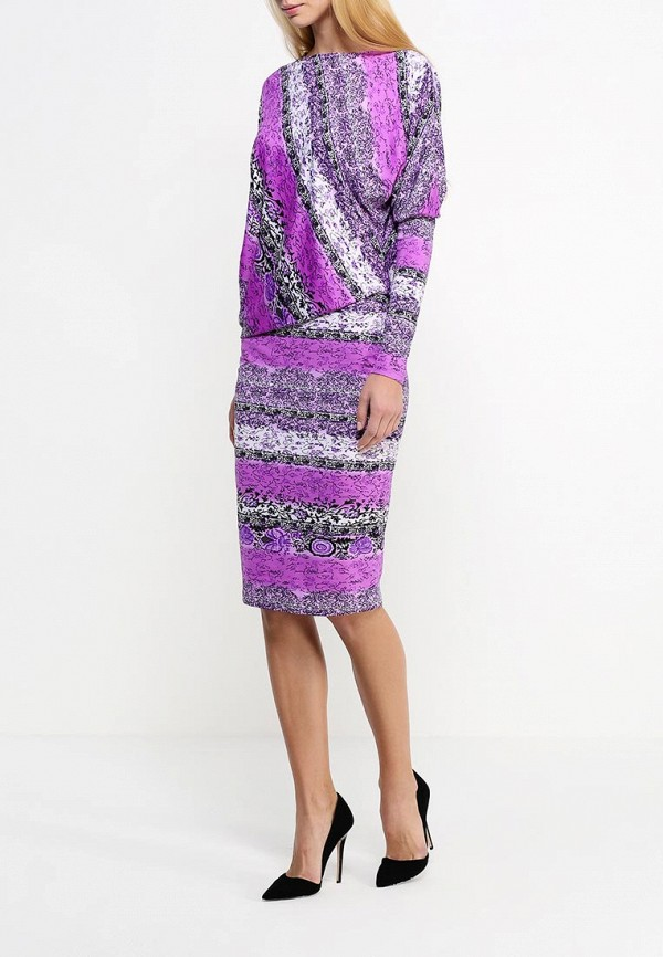 Платье-миди Adzhedo 40603: изображение 2