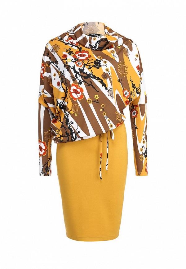 Платье-миди Adzhedo 40608: изображение 1