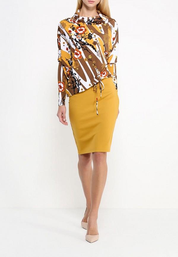 Платье-миди Adzhedo 40608: изображение 2