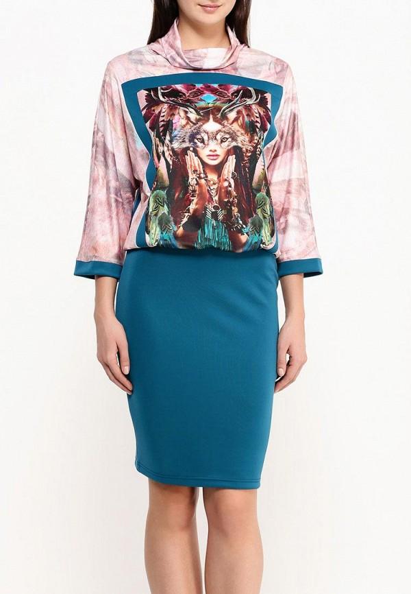Платье-миди Adzhedo 40703: изображение 4