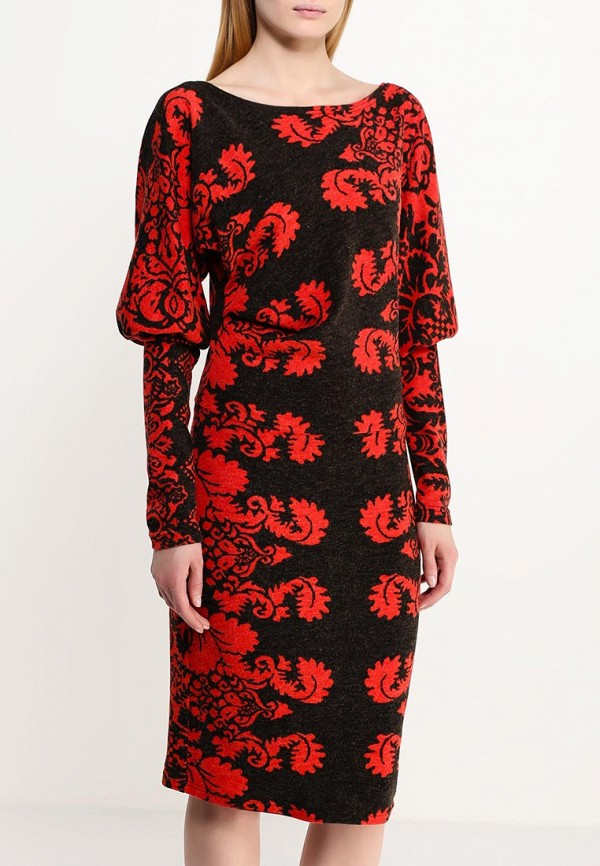 Платье-миди Adzhedo 40704: изображение 3