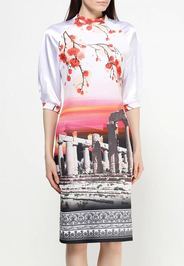 Платье-миди Adzhedo 40748: изображение 3
