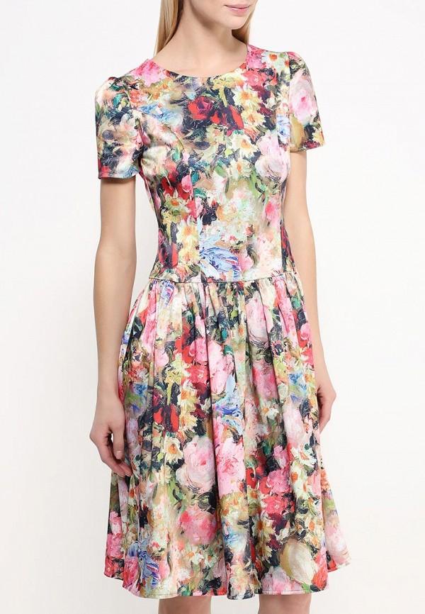 Платье-миди Adzhedo 40763: изображение 3
