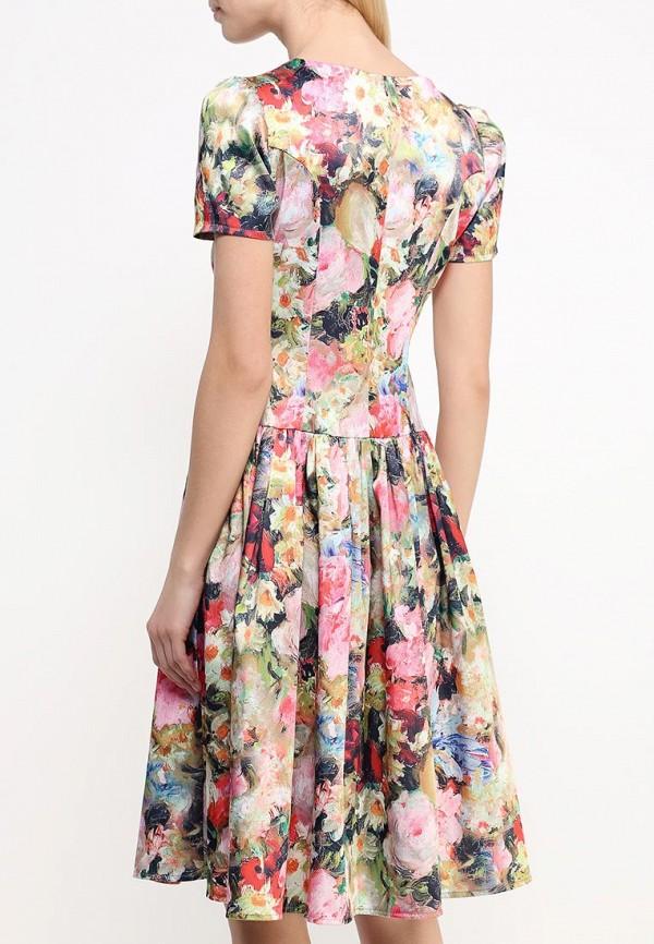 Платье-миди Adzhedo 40763: изображение 4