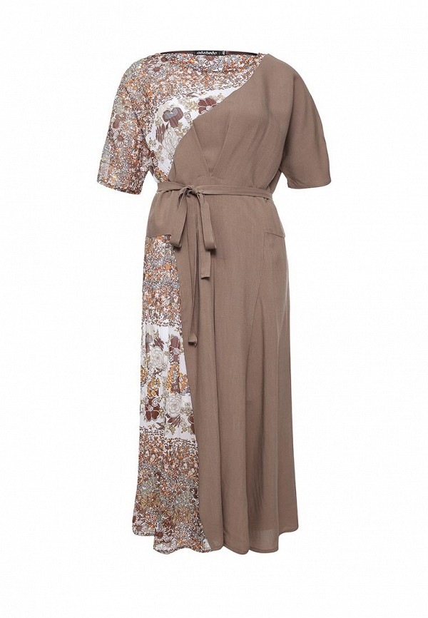 Платье-миди Adzhedo 40826: изображение 1