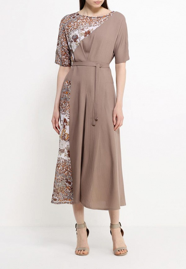 Платье-миди Adzhedo 40826: изображение 2