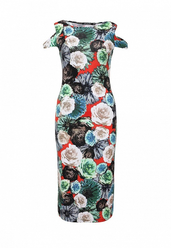 Платье-миди Adzhedo 40830: изображение 1