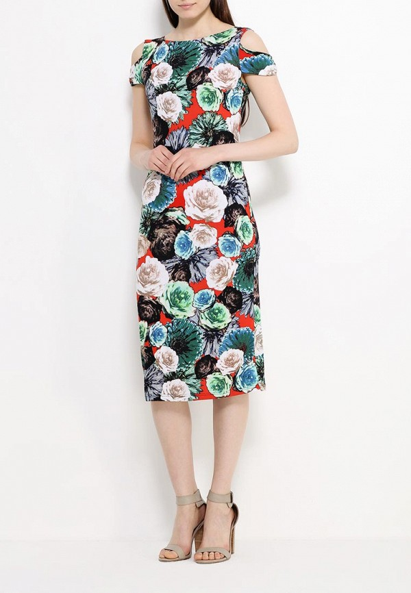 Платье-миди Adzhedo 40830: изображение 2