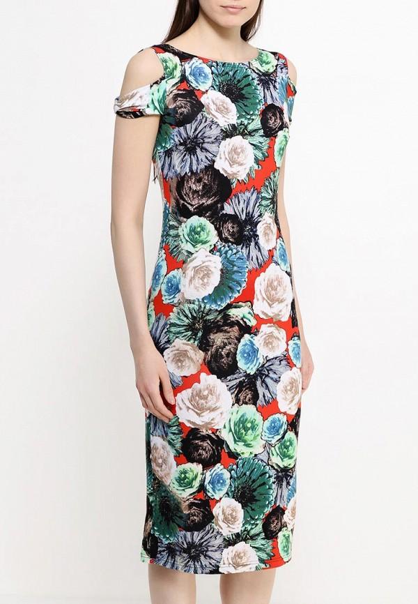 Платье-миди Adzhedo 40830: изображение 4