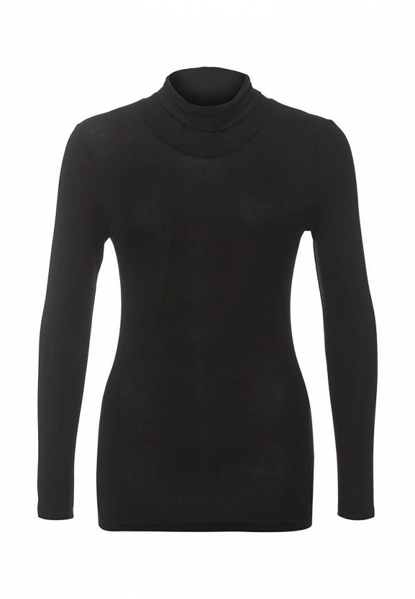 Женская черная водолазка