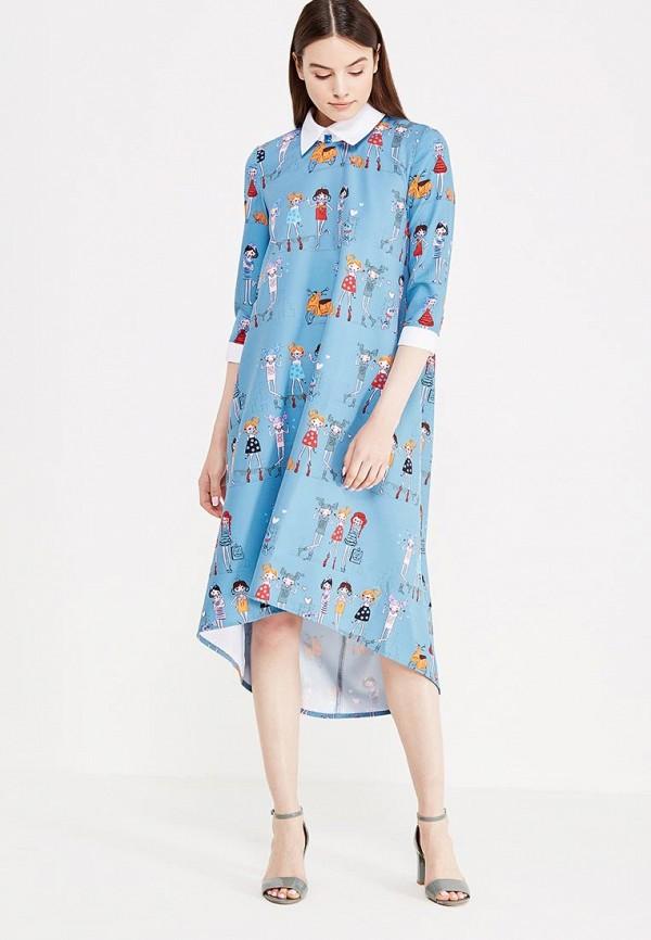 Платье Adzhedo Adzhedo AD016EWUHV39 платье adzhedo цвет белый синий