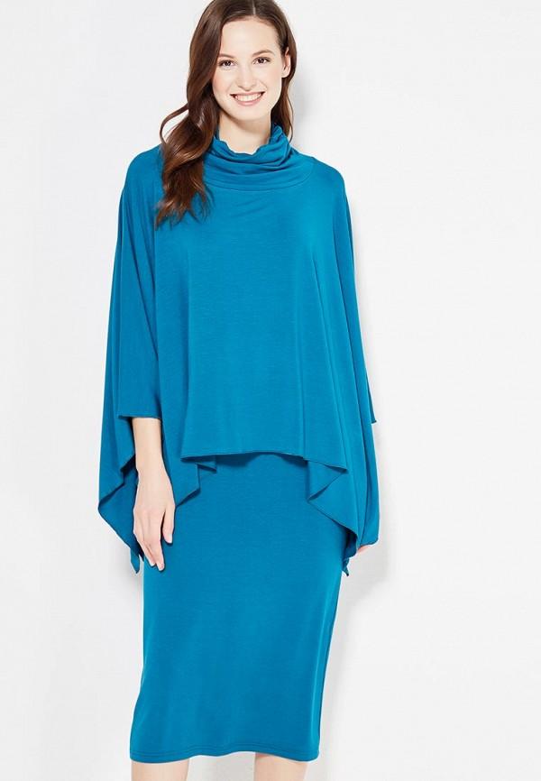 Комплект платье и пончо Adzhedo