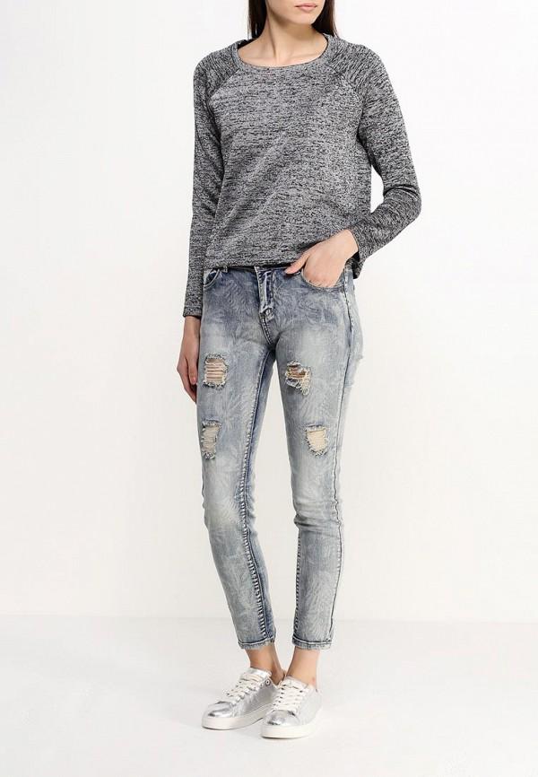 Зауженные джинсы Ad-oro E1036: изображение 2