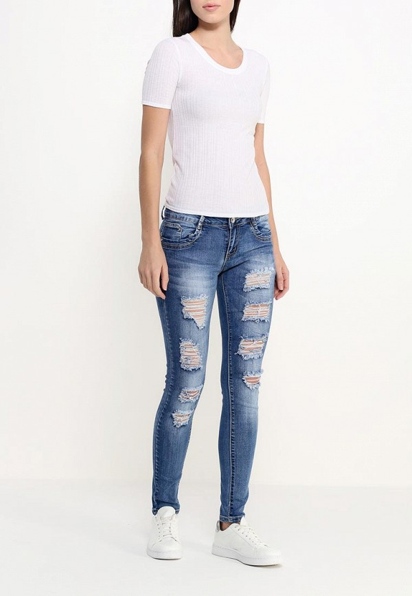 Зауженные джинсы Adrixx R13-CPZ210: изображение 2