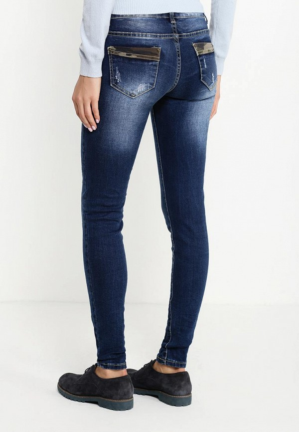 Зауженные джинсы Adrixx R13-WG637: изображение 4