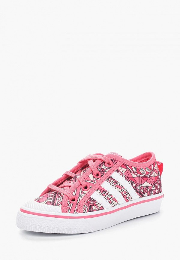 Купить Кеды adidas Originals, adidas Originals AD093AGAMHQ1, розовый, Весна-лето 2018