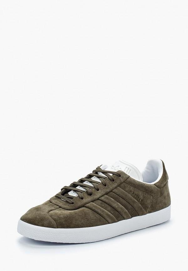 Купить Кеды adidas Originals, adidas Originals AD093AMALPP4, хаки, Весна-лето 2018