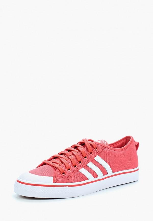 Купить Кеды adidas Originals, adidas Originals AD093AMALPQ3, коралловый, Весна-лето 2018