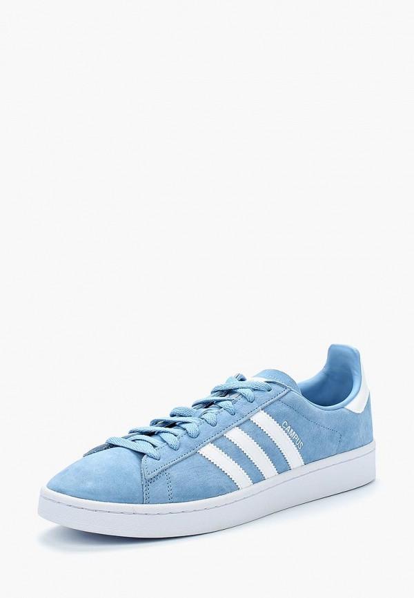 Купить Кеды adidas Originals, adidas Originals AD093AMALPT7, голубой, Весна-лето 2018