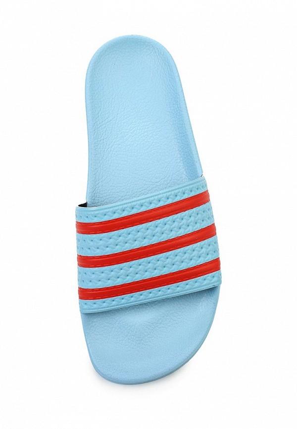Мужские сланцы Adidas Originals (Адидас Ориджиналс) S78686: изображение 4