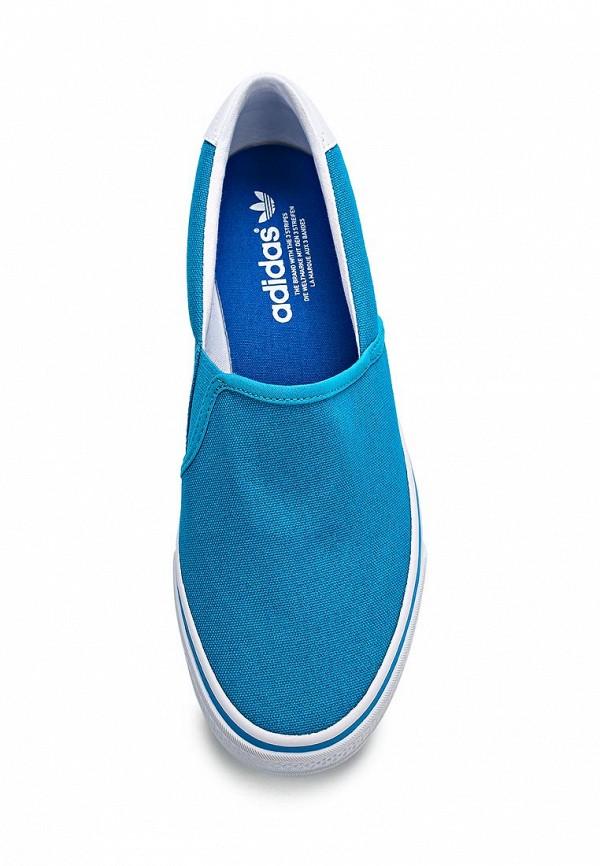 Слипоны Adidas Originals (Адидас Ориджиналс) B25801: изображение 4