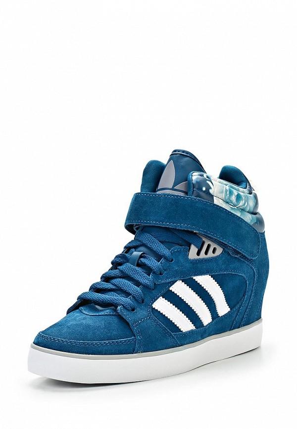 Женские кеды на танкетке Adidas Originals (Адидас Ориджиналс) D65817: изображение 1