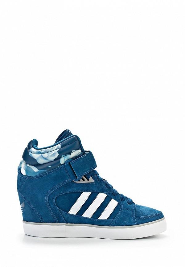 Женские кеды на танкетке Adidas Originals (Адидас Ориджиналс) D65817: изображение 4