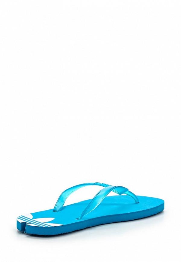 Женские сланцы Adidas Originals (Адидас Ориджиналс) M19437: изображение 2