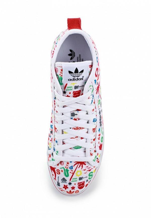 Женские кеды на танкетке Adidas Originals (Адидас Ориджиналс) B34043: изображение 3