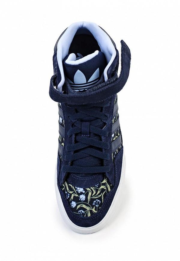 Женские кеды на танкетке Adidas Originals (Адидас Ориджиналс) B35359: изображение 4