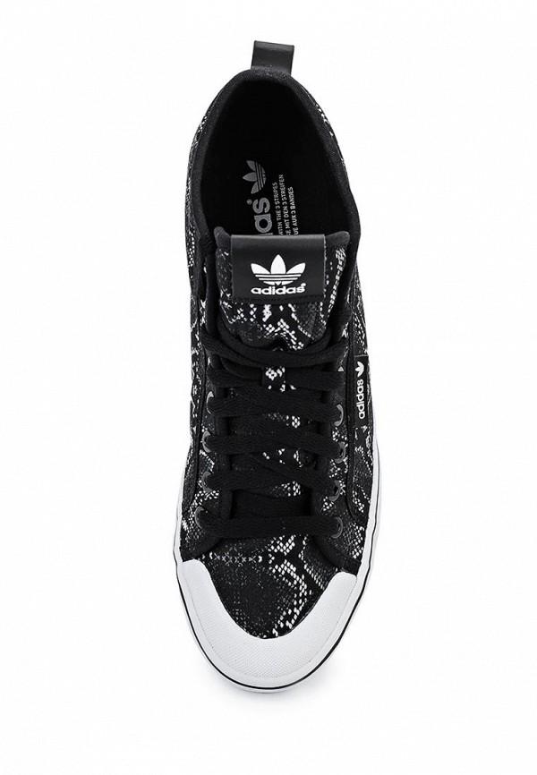 Женские кеды на танкетке Adidas Originals (Адидас Ориджиналс) S77430: изображение 4