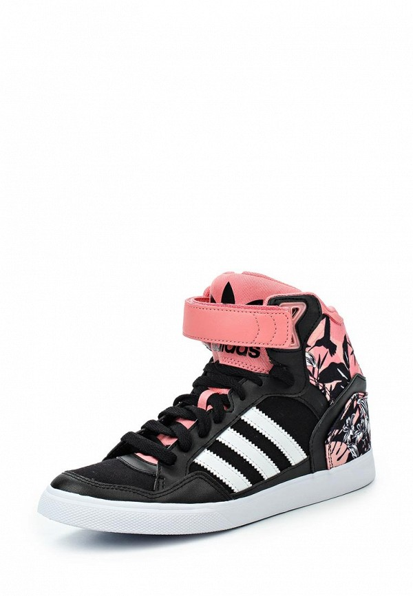 Женские кеды на танкетке Adidas Originals (Адидас Ориджиналс) S74998: изображение 1