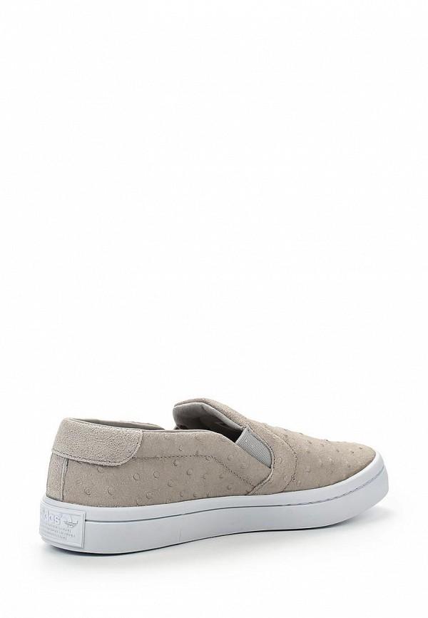 Женские слипоны Adidas Originals (Адидас Ориджиналс) S75165: изображение 2