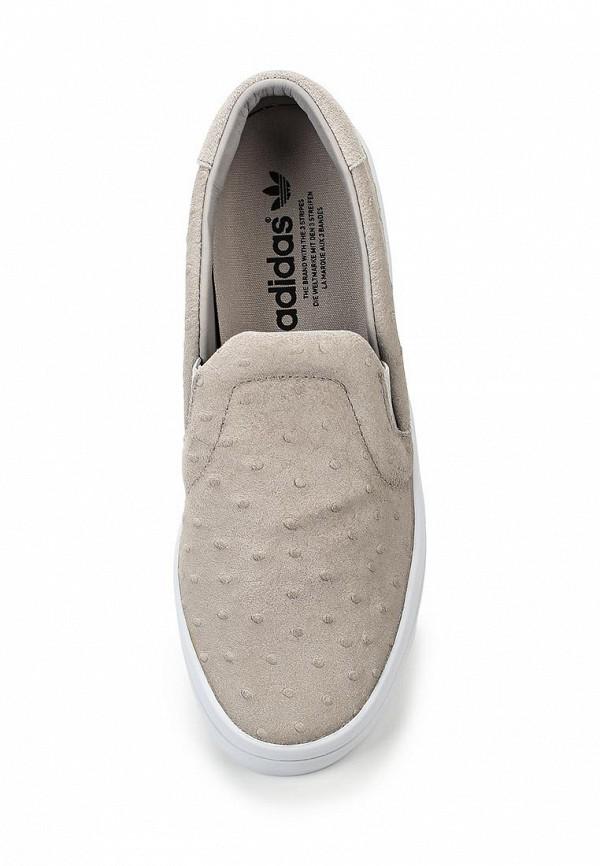 Женские слипоны Adidas Originals (Адидас Ориджиналс) S75165: изображение 4