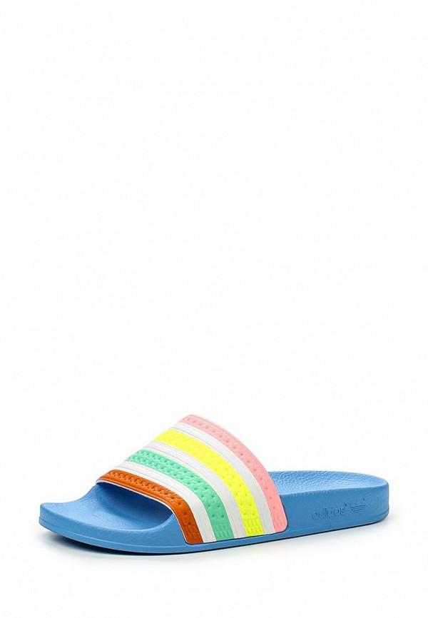 Женские сланцы Adidas Originals (Адидас Ориджиналс) S75566: изображение 1